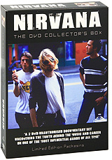 Nirvana: The Nirvana DVD Collectors Box (2 DVD) nirvana nirvana hollywood rock festival 1993 2 lp