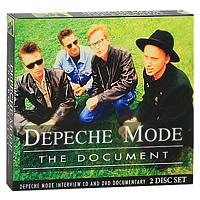 Depeche Mode Depeche Mode. The Document (DVD + CD) dvd depeche mode the best of videosvolume 1