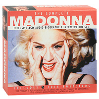 Мадонна Madonna. The Complete Madonna (3 CD) madonna complete studio albums 1983 2008 box set new 11 cd china factory free shipping