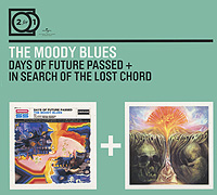 The Moody Blues The Moody Blues. Days Of Future Passed / In Search Of (2 CD) fender blues deluxe harmonica key of e