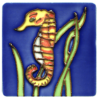 Магнит декоративный Морской конек. 10189 магнит декоративный северный мишка на машинке 5 х 6 см