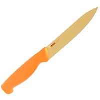 Нож кухонный Atlantis 13см 5U-O5U-OКухонный нож Atlantis всегда должен быть под рукой. Он подойдет для нарезки любых овощей, мяса, рыбы и других продуктов.Нож обработан специальным покрытием Microban. Покрытие Microban - самое надежное в мире средство для защиты от бактерий, грибков, плесени и запахов. Действует постоянно, даже после мытья, обеспечивая большую защиту ножа. Антибактериальная защита работает на протяжении всего срока службы ножа.Особенности ножа Atlantis: японская высокоуглеродистая нержавеющая стальпрочный и острый клинокпластиковая ручка с антибактериальной защитой Microbanэргономический дизайн ручкибезопасное и прочное покрытие лезвия, не дающее пище прилипать к ножукрасивое сочетание цветов ручки и лезвия.Характеристики: Длина лезвия:13 см. Длина общая:23 см. Производитель: Германия. Артикул: 5U-O. Германская компанияAtlantisбыла основана в 2002 году. На сегодняшний деньтовар этой компании широко представлен в России. Особый сплав стали с цинком обеспечивает ножам компании Atlantis особую прочность, благодаря чему ее продукция очень прочная и долговечная! Кроме того, удобный и разнообразный дизайн ножей позволяет выбрать тот вариант, который идеально подойдет именно Вам.Ножи от Atlantis - это ножи нового поколения, а именно линия 2000 - Помощник повара (Chiefs Essential)!Идеально сбалансированные ножи одинаково подходят как для повара-профессионала, так и для любителя, эти ножи призваны соответствовать пожеланиям обоих.