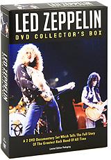 Led Zeppelin: DVD Collector's Box (2 DVD) dvd intellect техника быстрого чтения dvd box
