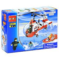 BanBao Конструктор Пожарный вертолет конструктор banbao пожарный джип 158 элементов 8299