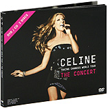 Celine Dion: Taking Chances World Tour - The Concert (DVD + CD) музыка cd dvd celine through the eyes of the world dvd