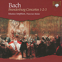 Уильям Росс,Франк де Брюн,Питер-Ян Белдер,Реми Боде Bach. Brandenburg Concertos 1 - 2 - 3 spectral classics pl151 bg 2 boxes