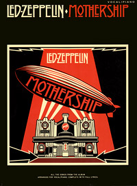 Led Zeppelin: Mothership: Vocal/Piano rock legends playing the songs of led zeppelin виниловая пластинка