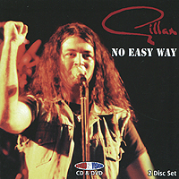 Иэн Гиллан Gillan. No Easy Way (CD + DVD) иэн гиллан ian gillan one eye to morocco limited edition