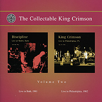 King Crimson The Collectable King Crimson. Volume 2 (2 CD) king crimson king crimson the great deceiver part two 2 cd