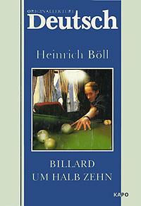 Heinrich Boll Billard um halb Zehn