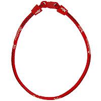 "Ожерелье ""Rakuwa Х50"", цвет: красный, 45 см, Phiten"