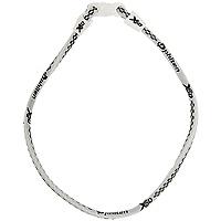 "Ожерелье ""Rakuwa Х50"", цвет: белый, 45 см, Phiten"