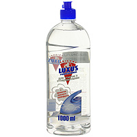 Вода парфюмированная Luxus для утюгов, с ароматом красного грейпфрута, 1 л25026/00000Высокоэффективное средство Luxus для утюгов с отпаривателем, предназначено для облегчения глажения различных типов тканей. Придает белью нежный аромат. Регулярное использование продлит срок службы утюга и избавит белье от появления пятен при отпаривании.Характеристики: Объем: 1 л. Производитель: Россия.Произведено под контролем лаборатории Luxus Oricont GmBH.