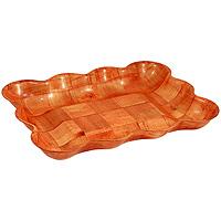 Ваза для фруктов Oriental way Шафран 23 х 32см RPP-1013BRPP-1013BОригинальная деревянная ваза Шафран прекрасно подойдет для вашей кухни. Предназначена для красивой сервировки фруктов. Ваза выполнена из высококачественной древесины березы. Изящный дизайн придется по вкусу и ценителям классики, и тем, кто предпочитает утонченность и изысканность. Характеристики:Материал: дерево. Размер: 23 см х 32 см х 4,5 см. Производитель: Тайвань. Артикул: RPP-1013B. Торговая марка Oriental way известна на рынке с 1996 года. Эта марка объединяет товары для кухни, изготовленные из дерева и других материалов. Все товары марки Oriental way являются безопасными для здоровья, экологичными, прочными и долговечными в использовании.