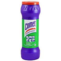 """Универсальный чистящий порошок Comet """"Двойной эффект"""", с ароматом сосны, 475 г"""