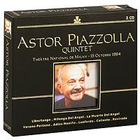 Astor Piazzolla, Astor Piazzolla Quintet. Astor Piazzolla (2 CD)
