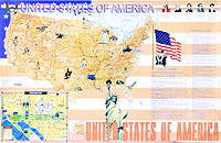 United States of America. Карта Уцененный товар (№3)