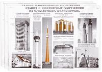 Опалубочные, арматурные и бетонные работы (комплект из 12 плакатов)
