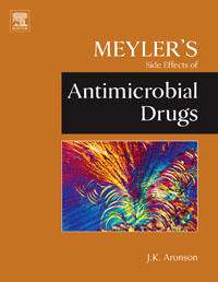 Meyler's Side Effects of Antimicrobial Drugs, jeffrey k aronson meyler s side effects of antimicrobial drugs