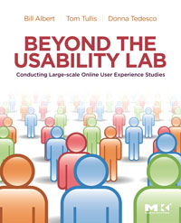 Beyond the Usability Lab, cost justifying usability