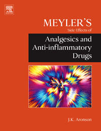 Meyler's Side Effects of Analgesics and Anti-inflammatory Drugs, jeffrey k aronson meyler s side effects of antimicrobial drugs
