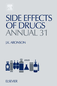 Side Effects of Drugs Annual,31 jeffrey k aronson meyler s side effects of antimicrobial drugs