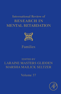 International Review of Research in Mental Retardation,37 international review of research in mental retardation 18