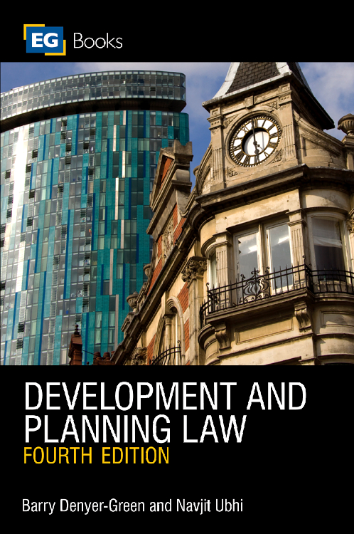 Development and Planning Law, development planning
