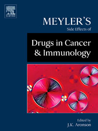 Meyler's Side Effects of Drugs in Cancer and Immunology, jeffrey k aronson meyler s side effects of antimicrobial drugs