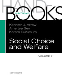 Handbook of Social Choice & Welfare,2 handbook of international economics 3