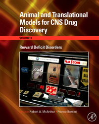 Animal and Translational Models for CNS Drug Discovery: Reward Deficit Disorders,3 arjun singh pharmaceutics drug discovery technology and tools
