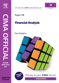 CIMA Official Exam Practice Kit Financial Analysis, cima official exam practice kit enterprise management fifth edition 2010 edition