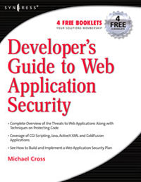 Developer's Guide to Web Application Security, web application obfuscation