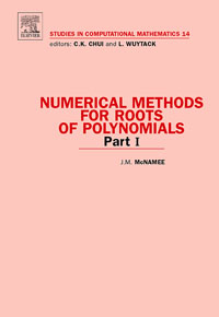 Numerical Methods for Roots of Polynomials - Part I,14 numerical methods for linear control systems