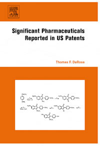 Significant Pharmaceuticals  Reported in US Patents pharmaceuticals