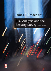 Risk Analysis and the Security Survey system security through log analysis