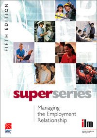 Managing the Employment Relationship Super Series managing projects made simple