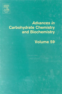 Advances in Carbohydrate Chemistry and Biochemistry,59 advances in macromolecular carbohydrate research volume 1 1