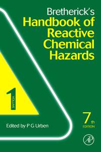 Bretherick's Handbook of Reactive Chemical Hazards, marshall major chemical hazards