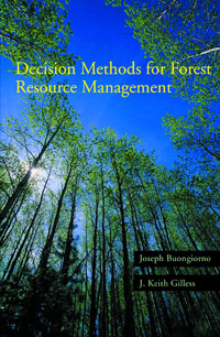 Decision Methods for Forest Resource Management,