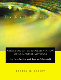 Object-Oriented Implementation of Numerical Methods, numerical study of dynamic relaxation methods