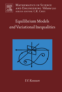 Equilibrium Models and Variational Inequalities,210 variational method