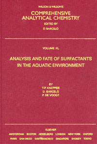 Analysis and Fate of Surfactants in the Aquatic Environment,40 фаркоп mitsubishi pajero sport 2008 lux