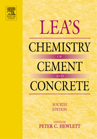 Lea's Chemistry of Cement and Concrete, industrial wastes in concrete alternative to cement