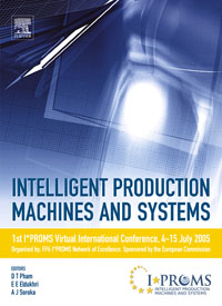 Intelligent Production Machines and Systems - First I*PROMS Virtual Conference, jongwon kim intelligent manufacturing systems 1997