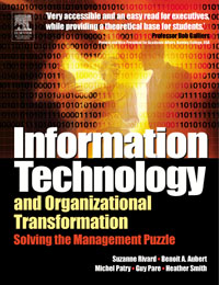 Information Technology and Organizational Transformation, technology based employee training and organizational performance