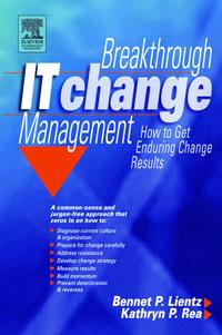 Breakthrough IT Change Management, edward finch facilities change management
