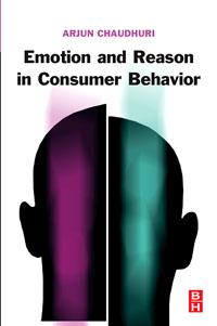 Emotion and Reason in Consumer Behavior, gender emotion