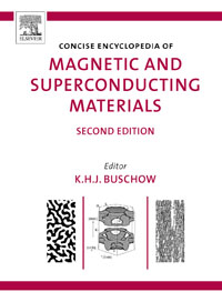 Concise Encyclopedia of Magnetic and Superconducting Materials, encyclopedia of materials science and technology