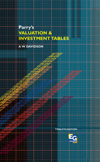 Parry's Valuation and Investment Tables,